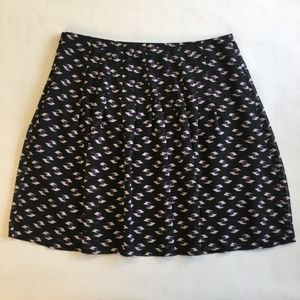 Ann Taylor Loft Pleated Spring Skirt